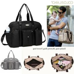 COLORLAND Multifunctional Travel Mummy Diaper Bag Nappy Mate