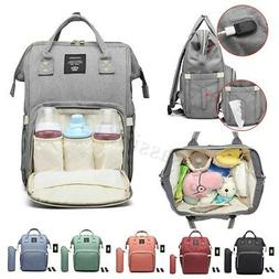 LEQUEEN Mummy Baby Newborn Diaper Bag Maternity Nappy Travel