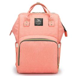 mummy diaper bag large pink maternity baby