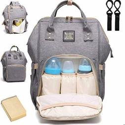 Mummy Maternity Diaper Bag Backpack Baby Nappy Trave Gear Wa