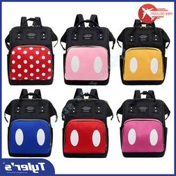 Mummy Maternity Large Capacity Diaper Nylon Backpack Baby Ca