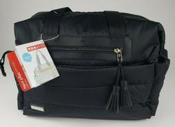 New Skip Hop Diaper Bag Tote DECO Saffiano Large with Changing Pad NWT Baby
