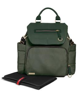 NEW! Skip Hop Chelsea Downtown Chic Diaper Backpack, Forest