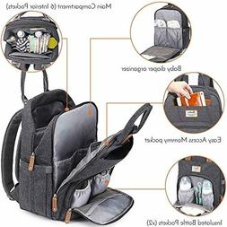 NEW Diaper Bag Backpack, RUVALINO Large Multifunction Waterp