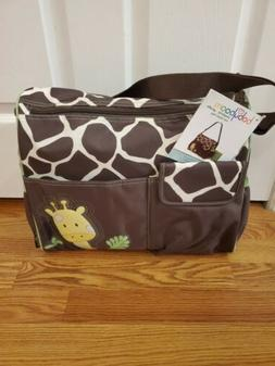 New Babyboom Diaper Bag Giraffe Pattern