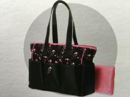 New Girl Graco Priscilla Collection Multi Pocket Zip Tote Di
