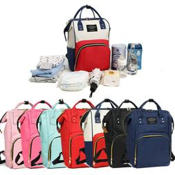 Fashion Mummy Maternity Nappy Diaper Bag Travel Handbag Back