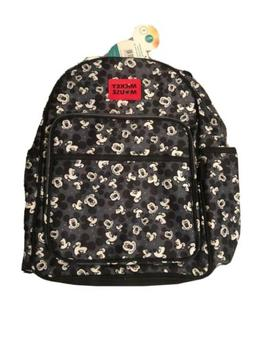 New with Tags - Disney Mickey Mouse Toss Head Print Backpack
