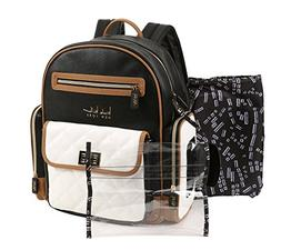 Nicole Miller New York Multi Piece Backpack Diaper Bag