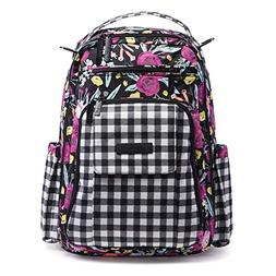 Ju-Ju-Be Onyx Collection Be Right Back Backpack Diaper Bag,