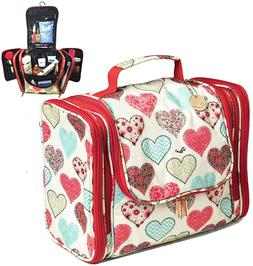 Palcovi Large Capacity Diaper Bag Organizer Pattern: Hearts