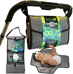 Portable Baby Diapering Changing Pad Station w/ Convertible