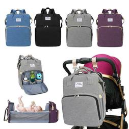 Portable Diaper Bag Folding Baby Travel Large Backapack Baby