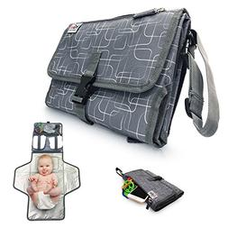 Portable Diaper Changing Pad for Baby to Toddler - Waterproo