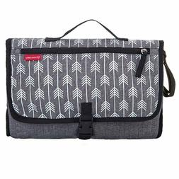 Portable Diaper Pad Bag Baby Travel Changing Station Built-i