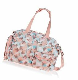 print satchel diaper bag
