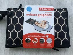 Skip Hop Pronto Diaper Changing Station 2 in 1 - Black, NEW.
