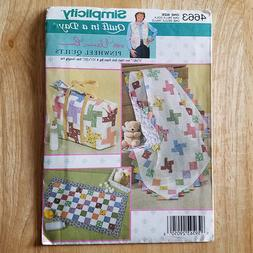 Sewing Pattern Baby Accessories Diaper Bag Quilt Changing Pa