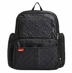Soho Diaper Bag Backpack for Mom or Dad- black