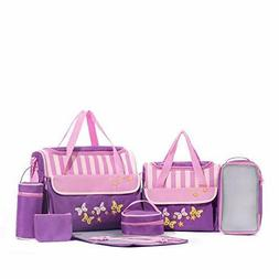 SoHo diaper bag Butterflies Meadows 10pcs