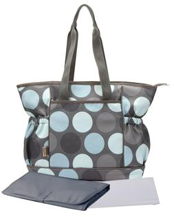 Bellotte Stylish Cute Baby Tote Diaper Bag Mommy Bag Gray wi