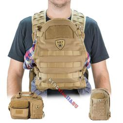 Tactical Baby Gear Carrier / Diaper Bag / Daypack TBG Dady G