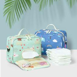 US Waterproof Diaper Bag Reusable Washable Baby organizer Ba