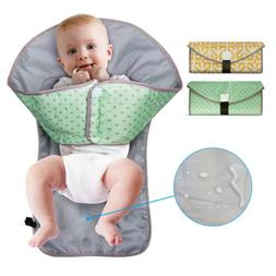 US Clean Hands Changing Pad Portable Baby 3in1 Cover Mat Fol