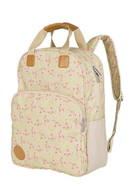 Lassig Vintage Style Diaper Backpack Bag includes Matching I