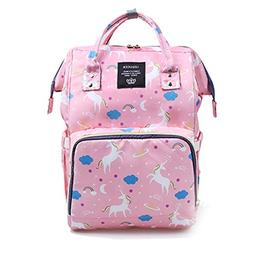 Waterproof Diaper Bag Backpack Multi-Function Large Capacity