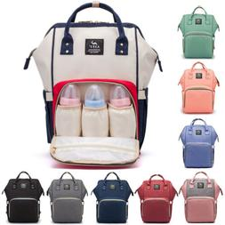 Waterproof Large Mummy Diaper Bag Baby Care Nappy Changing B